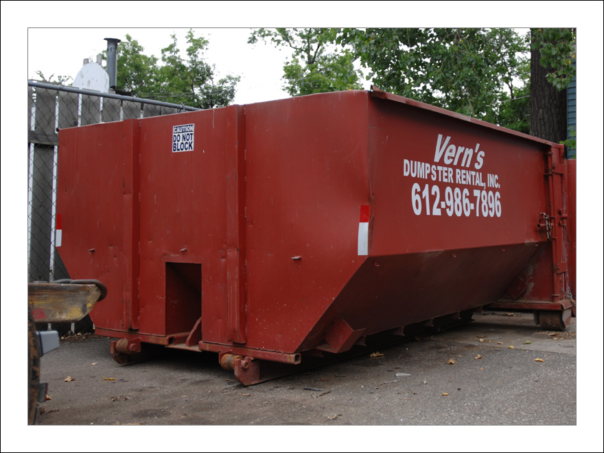 Vern 39 S Dumpsters 612 986 7896